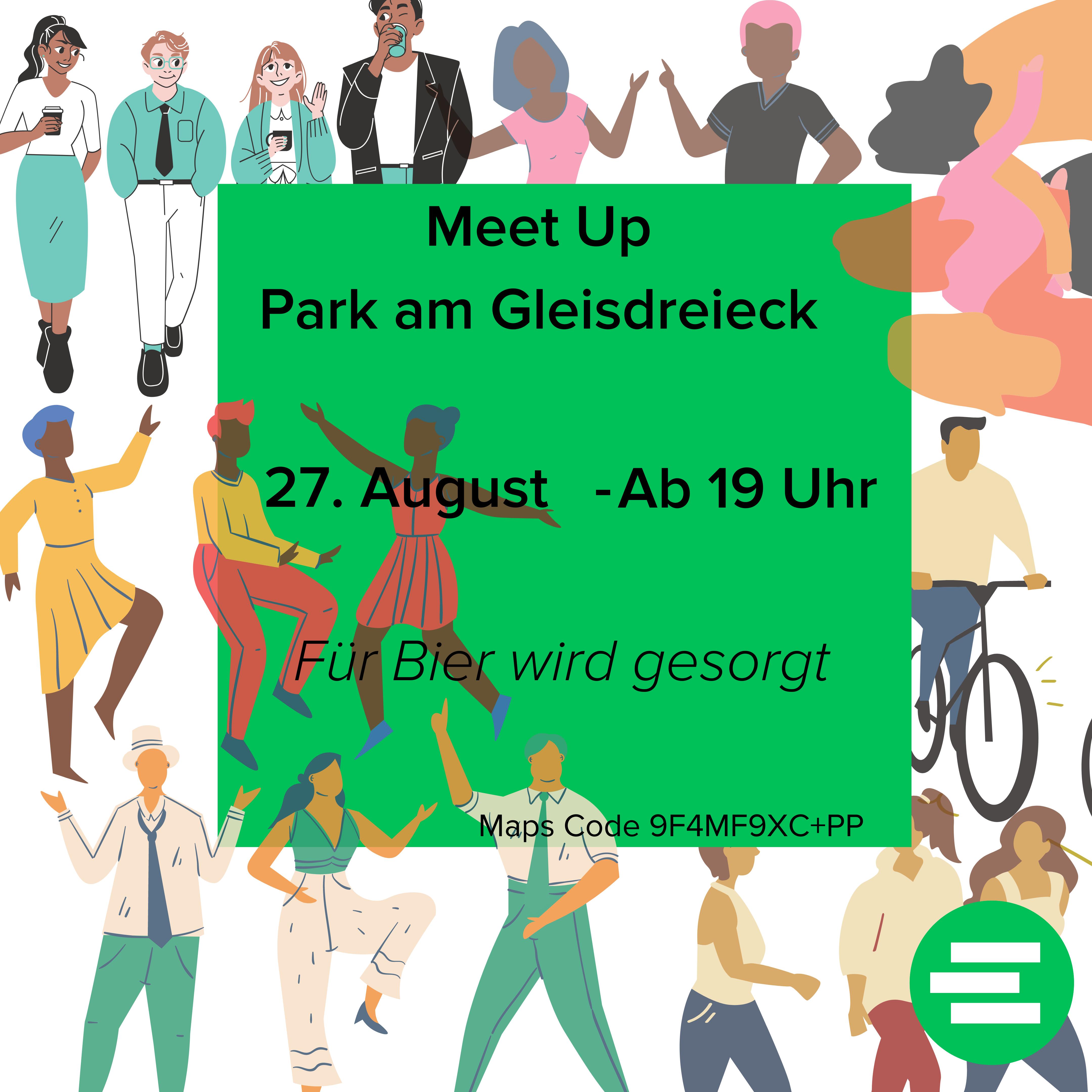 Meet Up am Park am Gleisdreieck